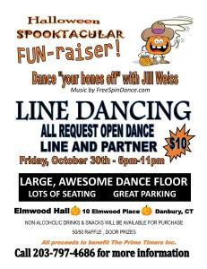 halloween spooktacular line dance fun raiser danbury senior resources