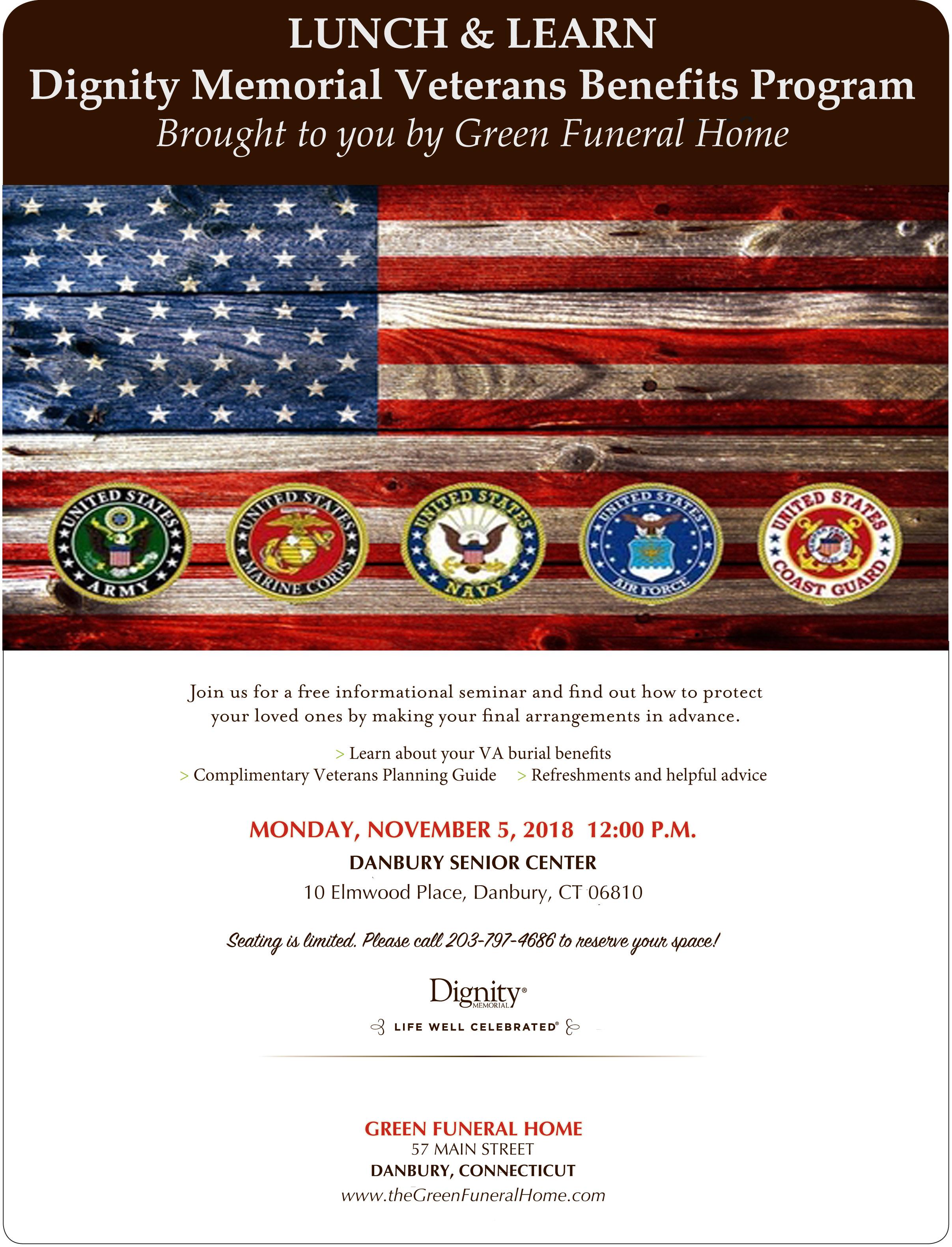 Dignity Memorial Veterans Benefits Program – Brought to you